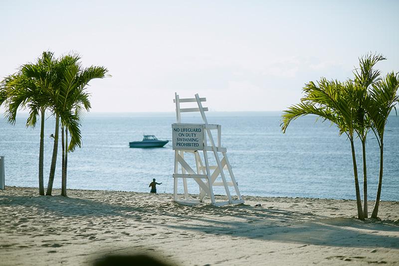 Beach wedding long island