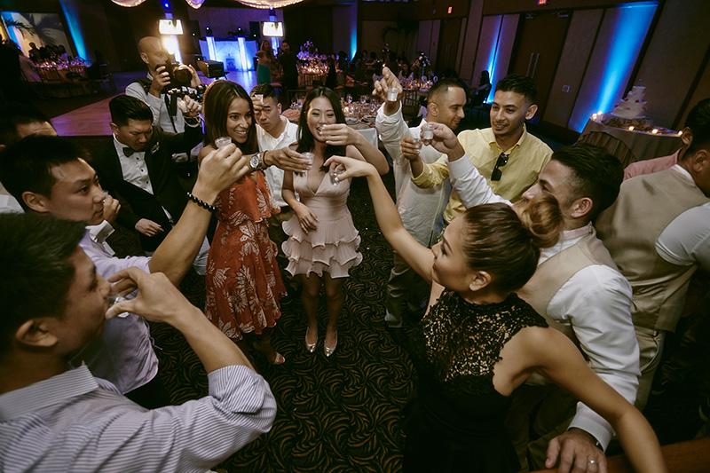 The Crescent Beach Club wedding