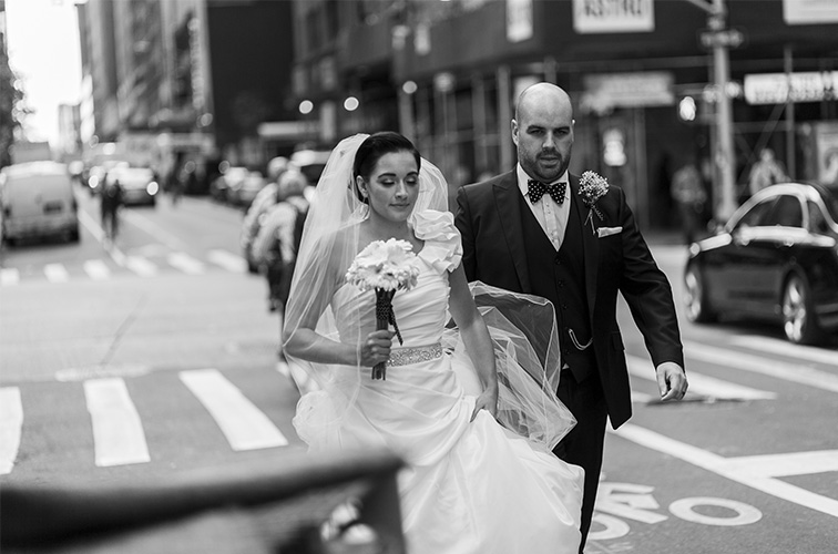 Kerry and Alex, central park wedding elopement