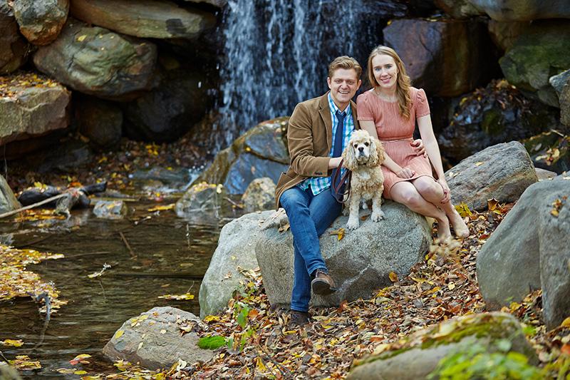 Prospect Park engagement photos