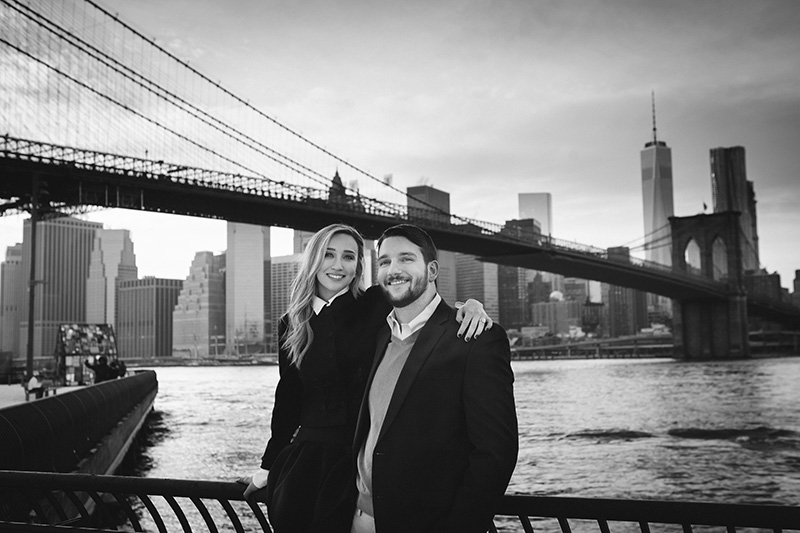 manhattan skyline engagement