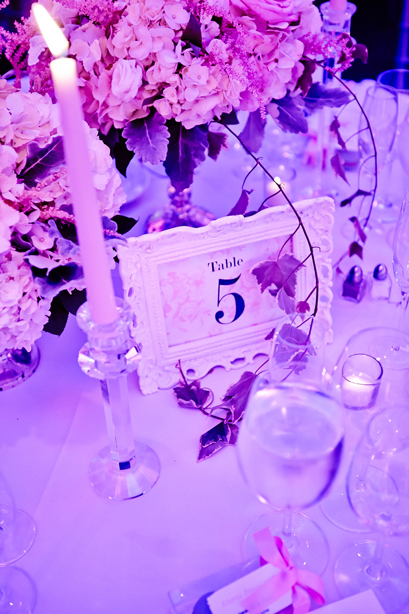 wedding table numbers