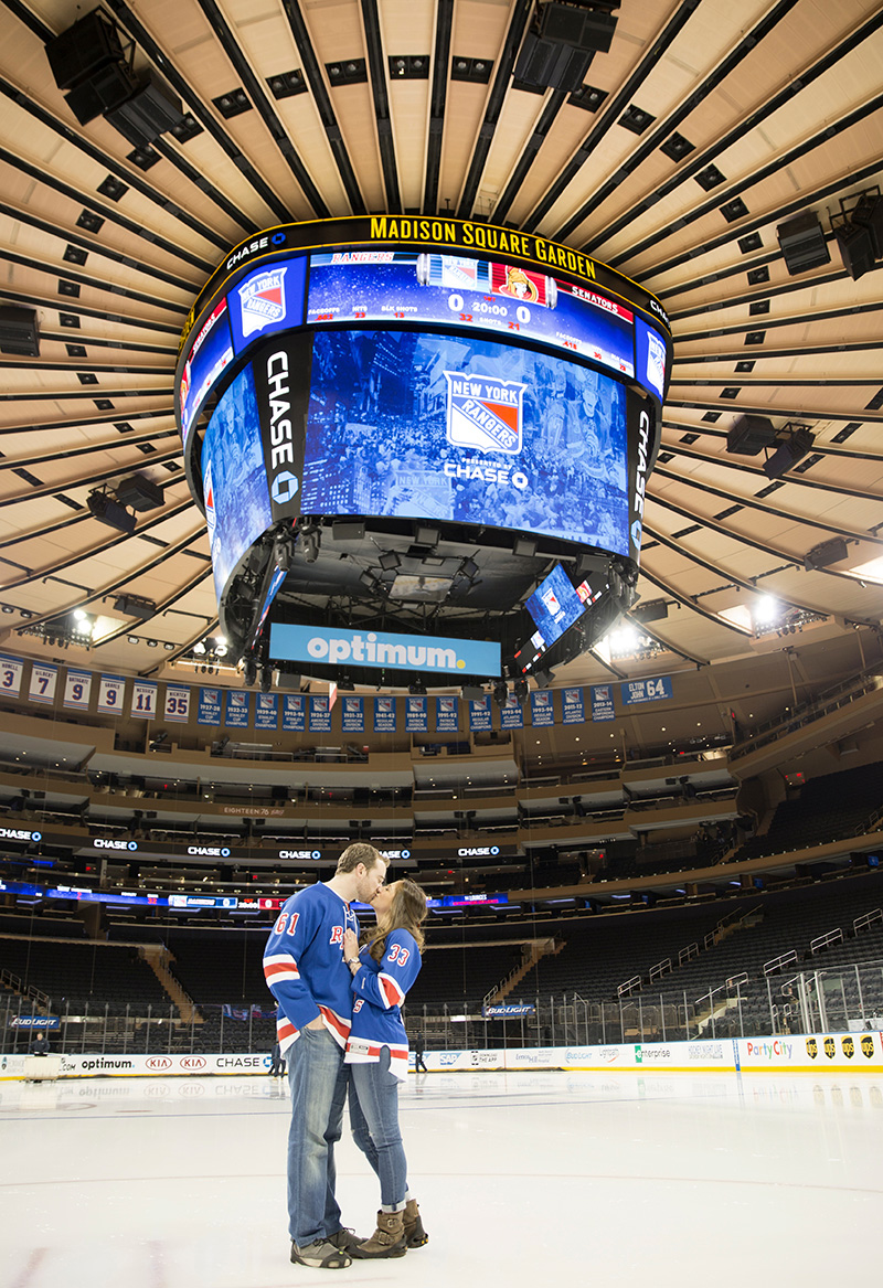 madison square garden engagement