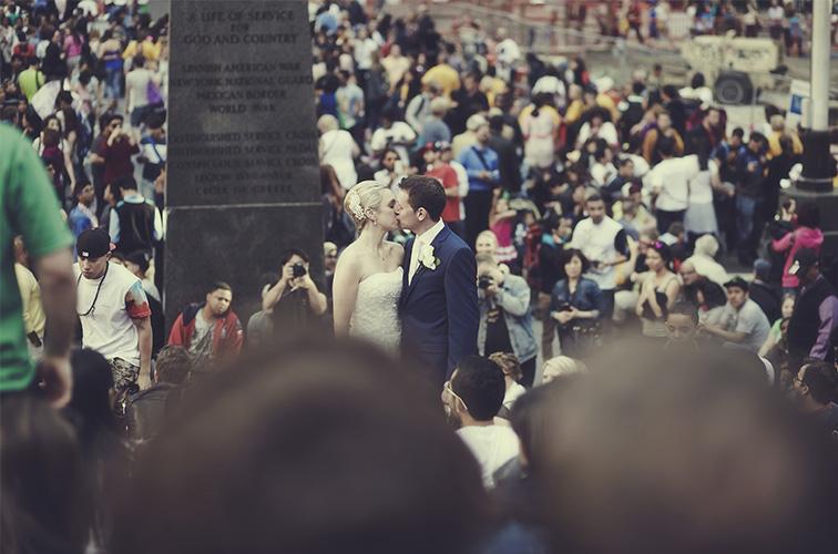 Tara and Ronan, nyc elopement