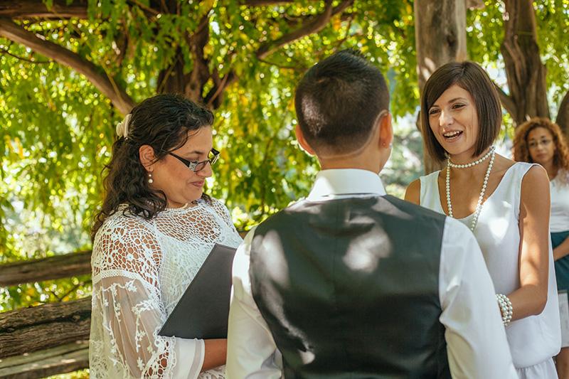 cop cot wedding