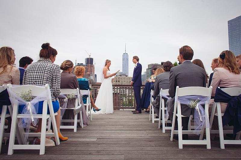 rooftop wedding ceremony NYC