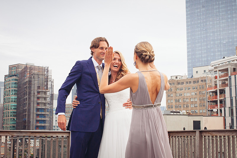 Penthouse Six NYC elopement photography by Le Image - Brooklyn, NY wedding photographers and videographers. Affordable all inclusive wedding packages.
