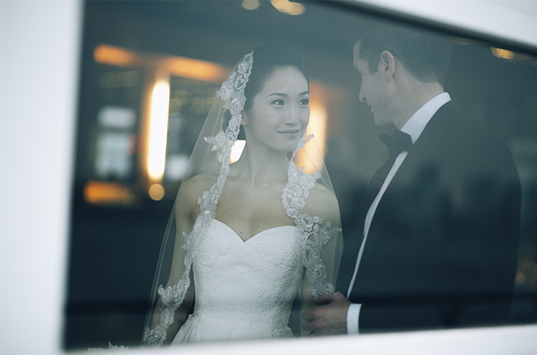 Michelle and Keith, chelsea piers wedding