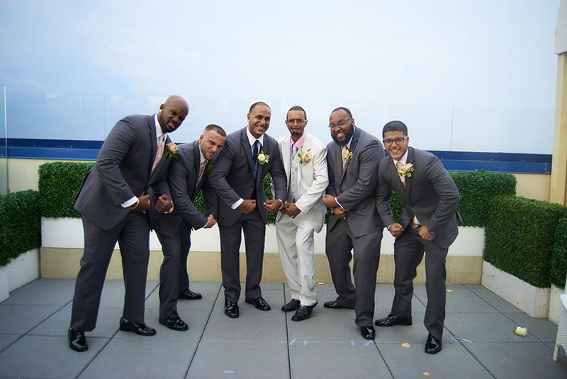 groom with groomsen