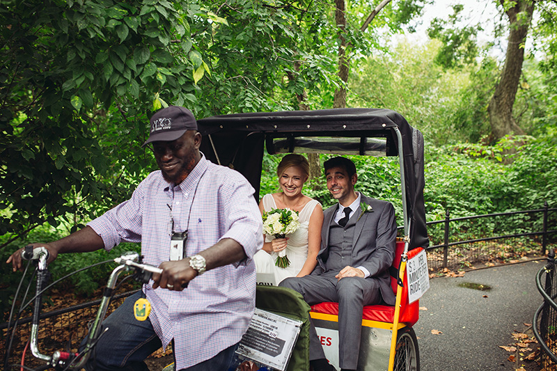wedding rickshaw photo