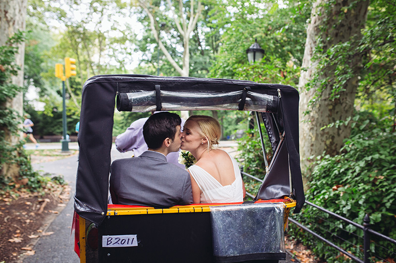 wedding rickshaw NYC