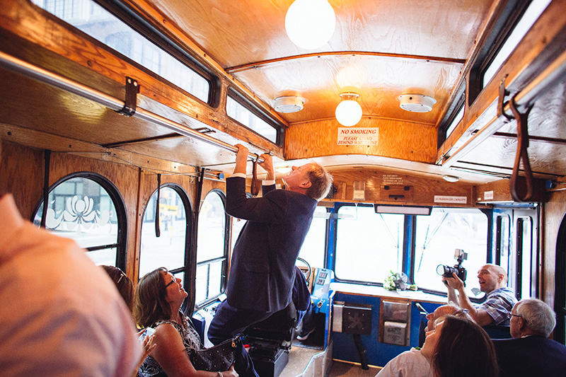 trolley ollie wedding