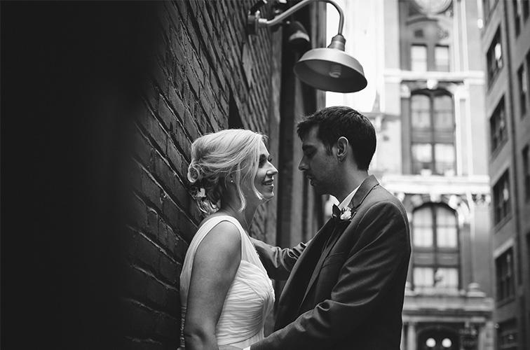 Leah and Mathieu, locanda verde wedding