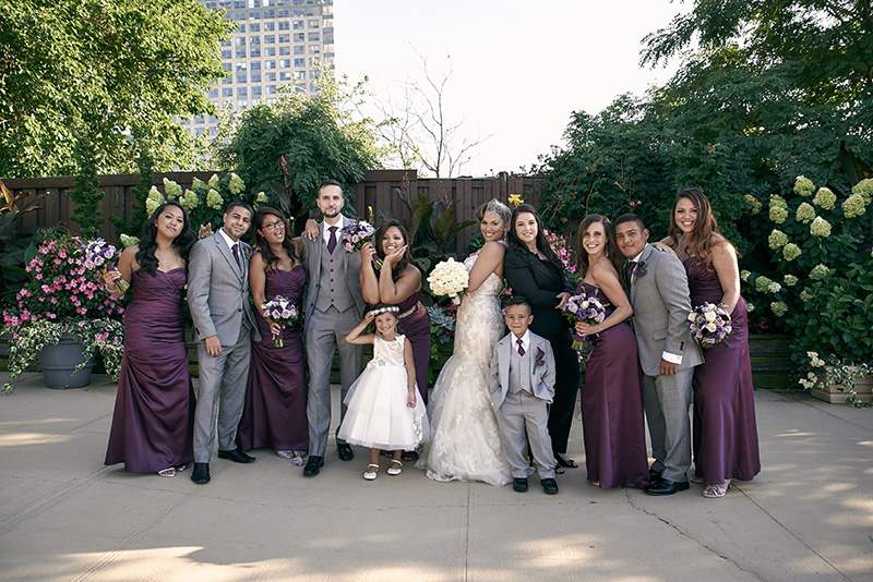 same sex bridal party