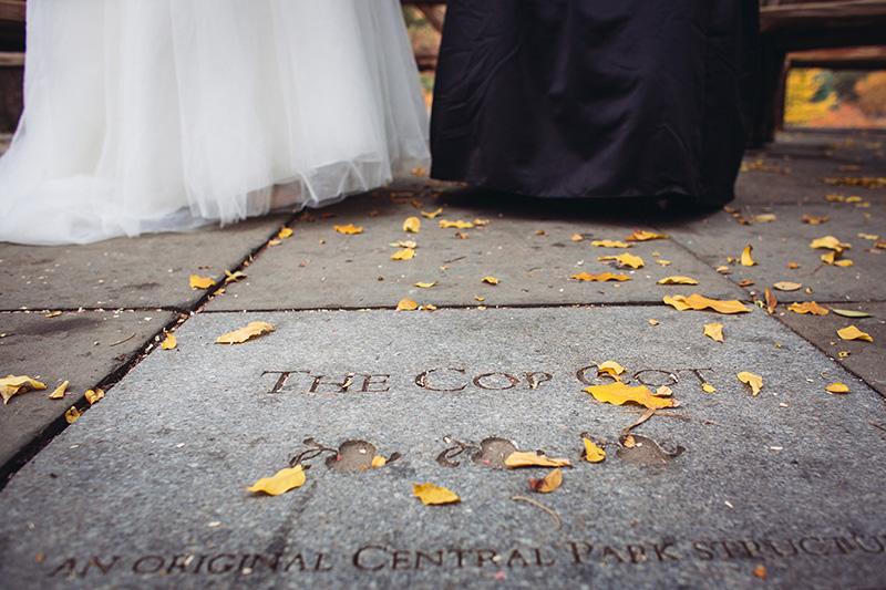the cop cot same sex wedding