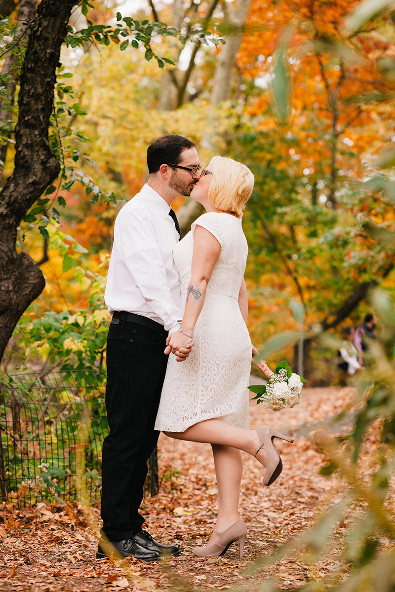beautiful fall wedding