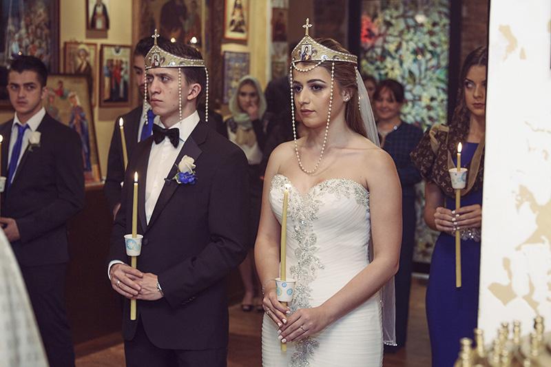 Georgian Church Wedding Ceremony