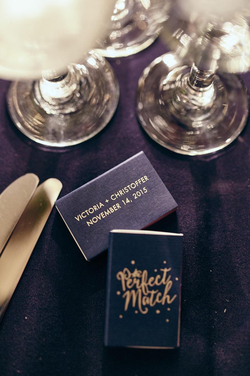 custom wedding matches
