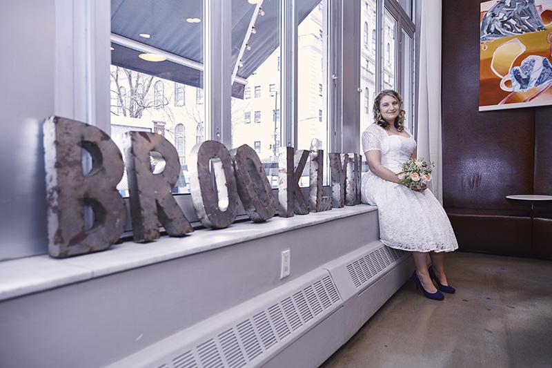 brooklyn wedding sign