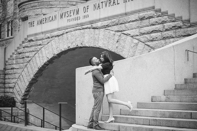 candid engagement photography