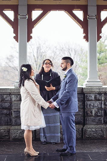 central park elopement packages