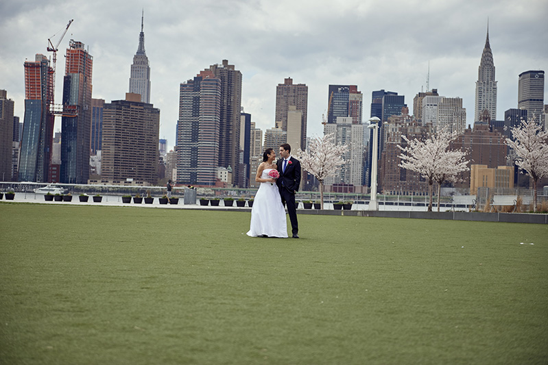 gantry plaza wedding