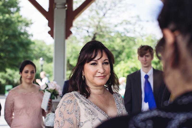 bride on wedding ceremony