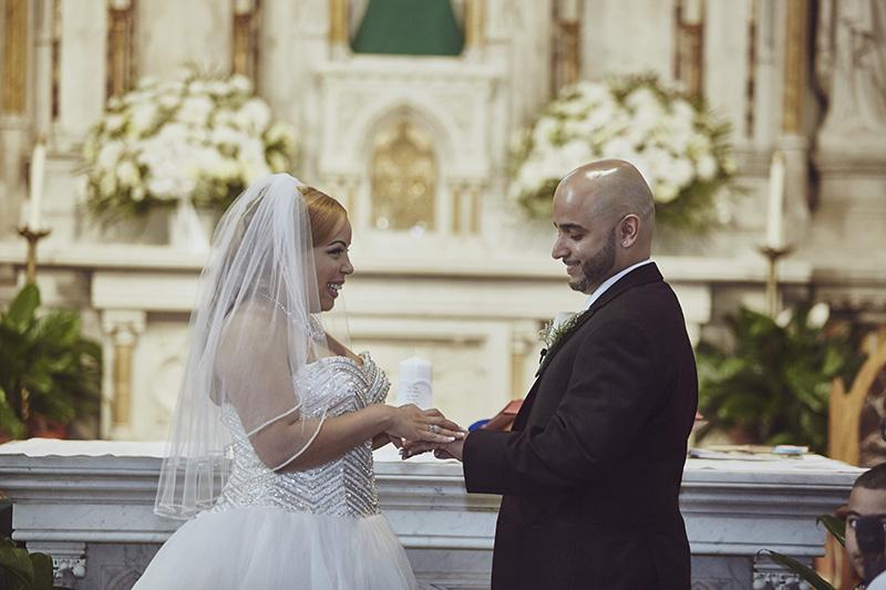 wedding rings exchange