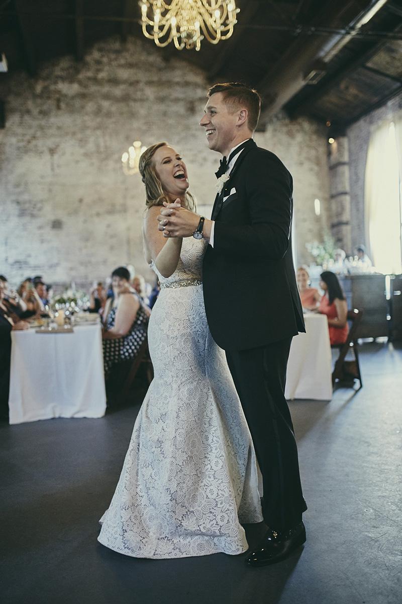bride smaling