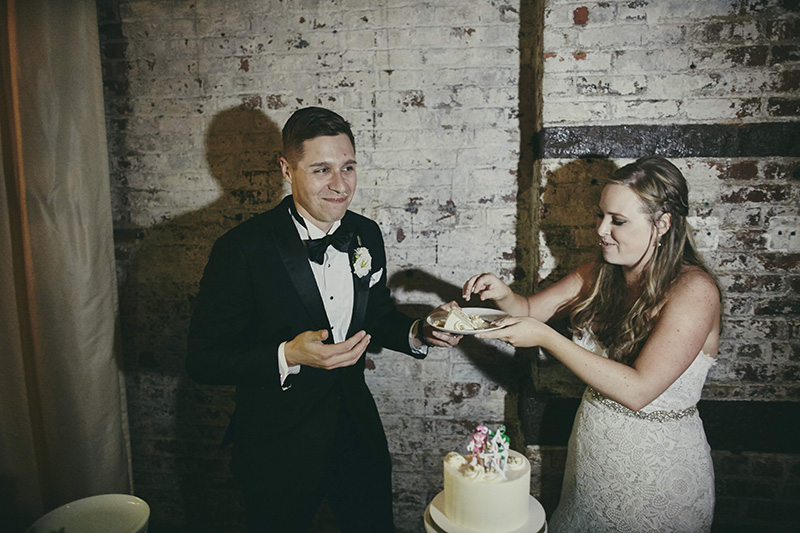 funny cake cutting