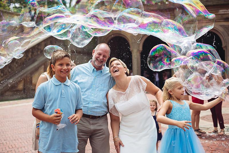 fun with soap bubbles