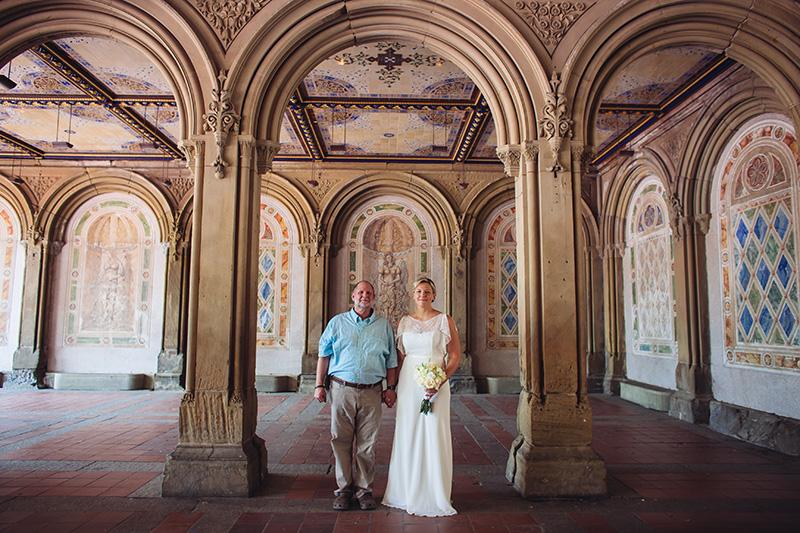 bethesda fountain wedding photos