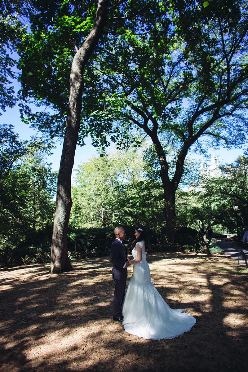 Central Park Weding photos