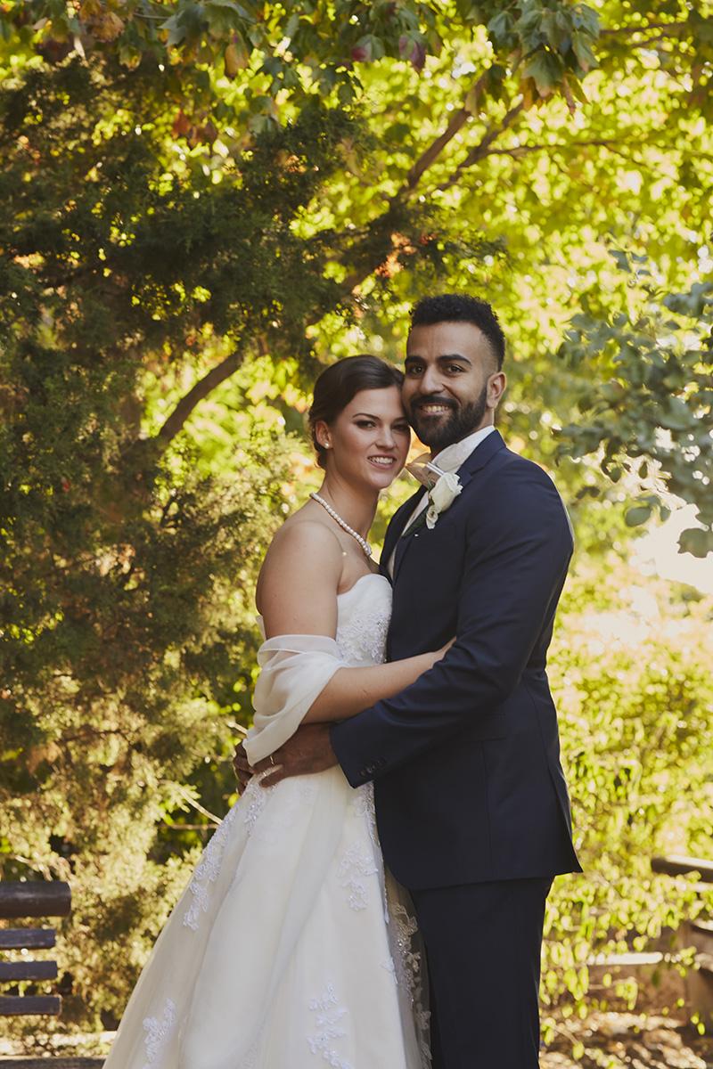Gantry State Plaza wedding portrait