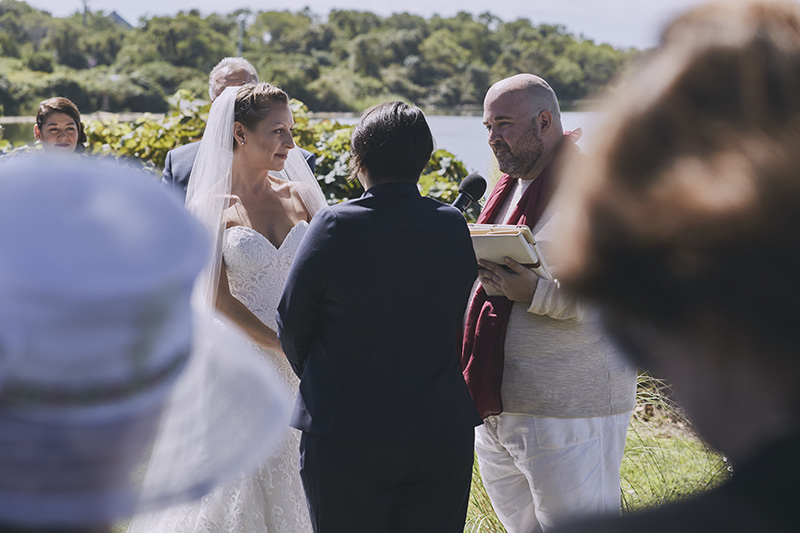 hamptons same sex wedding ceremony
