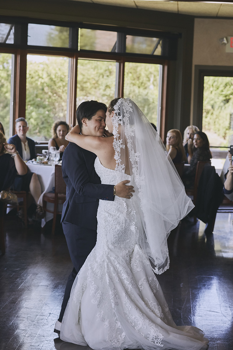 same sex first wedding dance