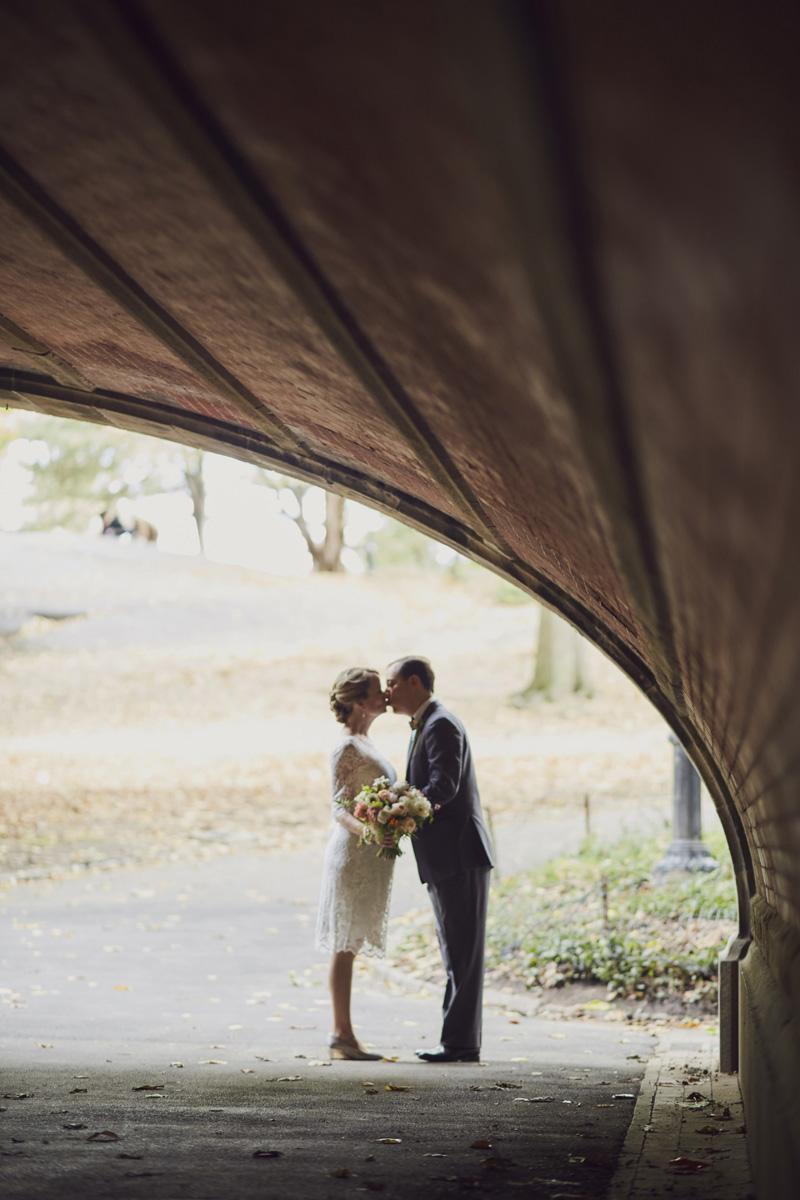 Beautiful central park wedding photos