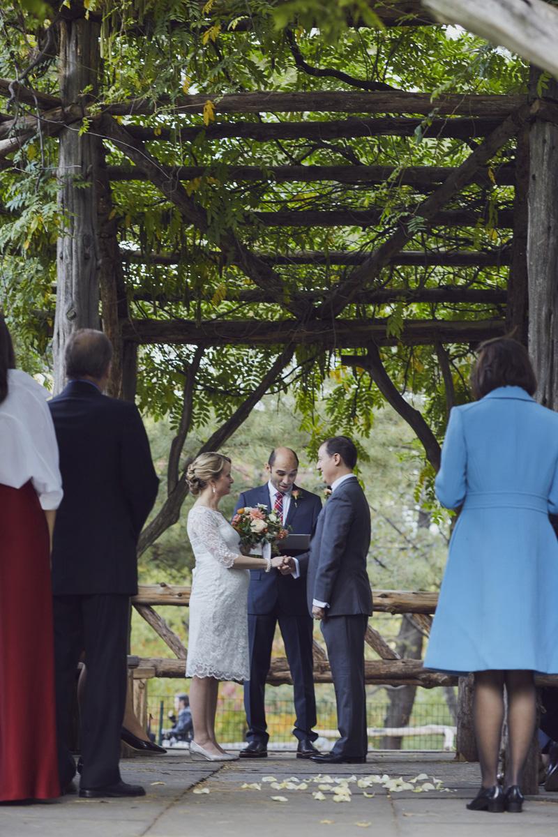 Cop Cot Central Park wedding