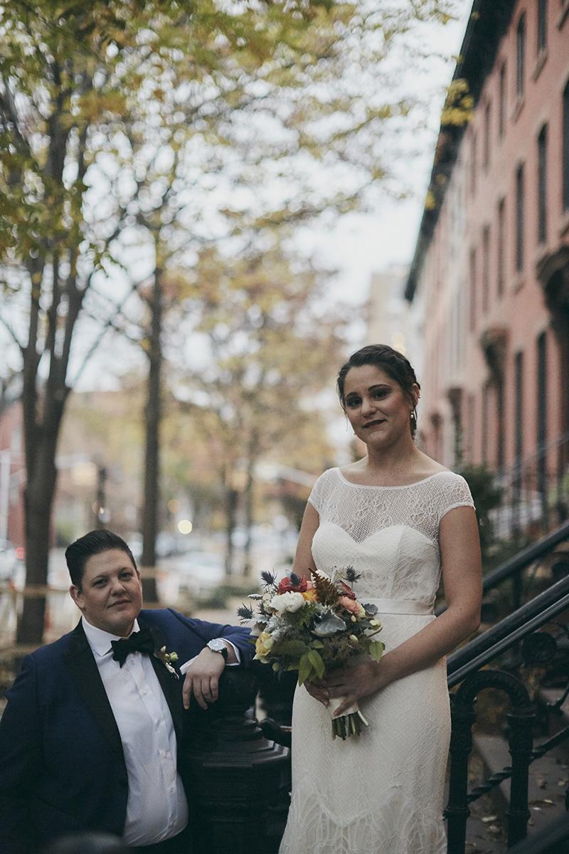 brooklyn townhouse wedding