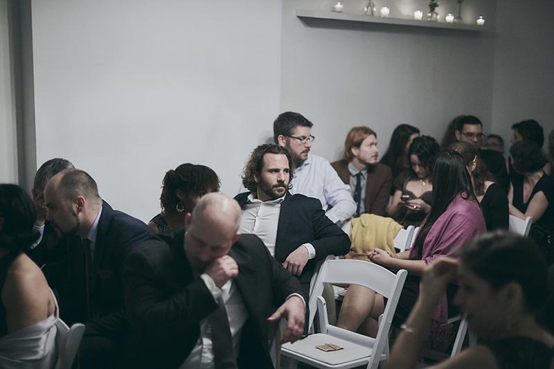 guests on weddings