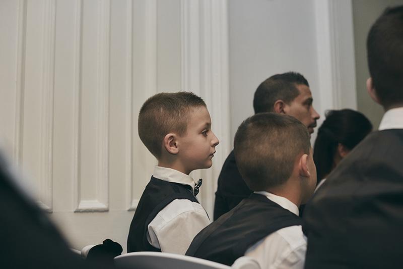 wedding audience