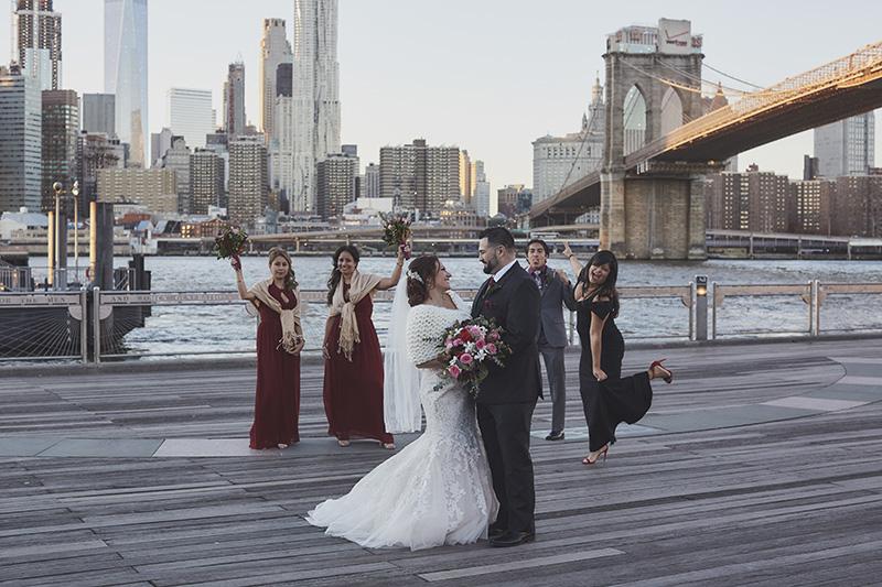 brooklyn bridge park wedding