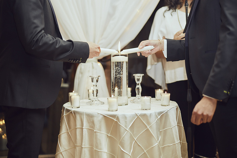 lighting the candle ceremony