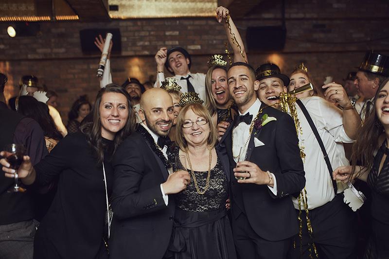 Deity wedding party
