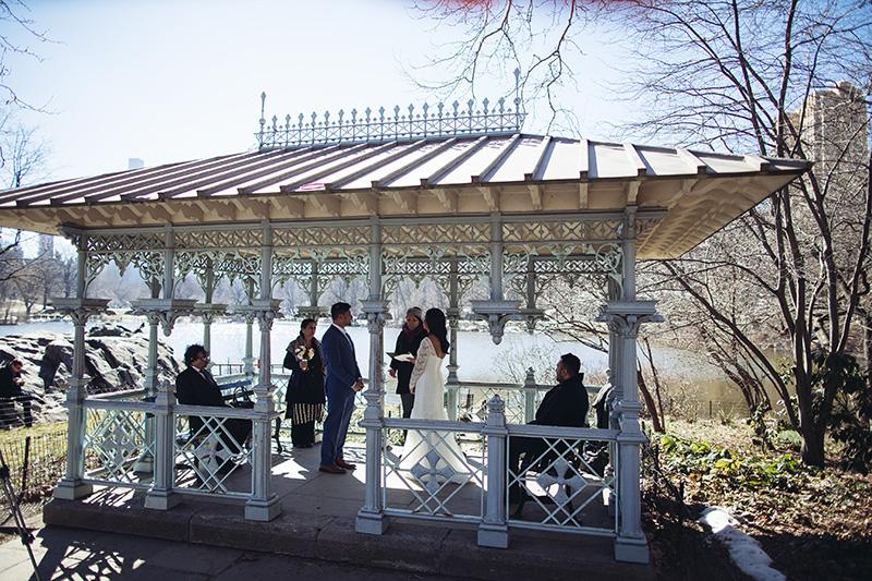 Central Park gazebo