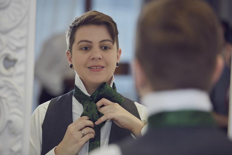 Indigo Hotel wedding preparations