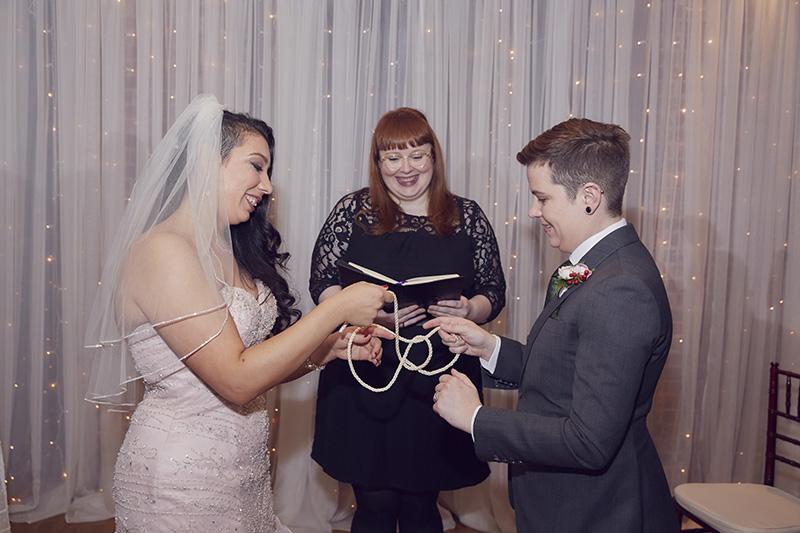 wedding ceremony rope knot