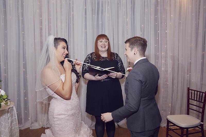 Rope wedding ceremony