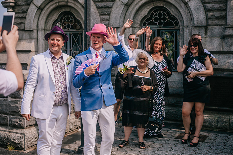 Belvedere Castle wedding photos