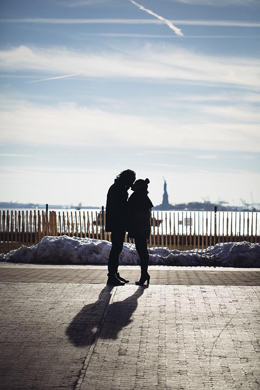 Battery Park Engagement